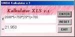 kalkulatoe Excel