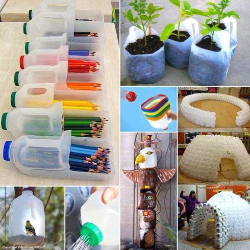 Kerajinan Menakjubkan dari Botol Bekas  FULL PICS   5468ce74e6